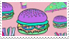 pastel goth food stamp by egraut