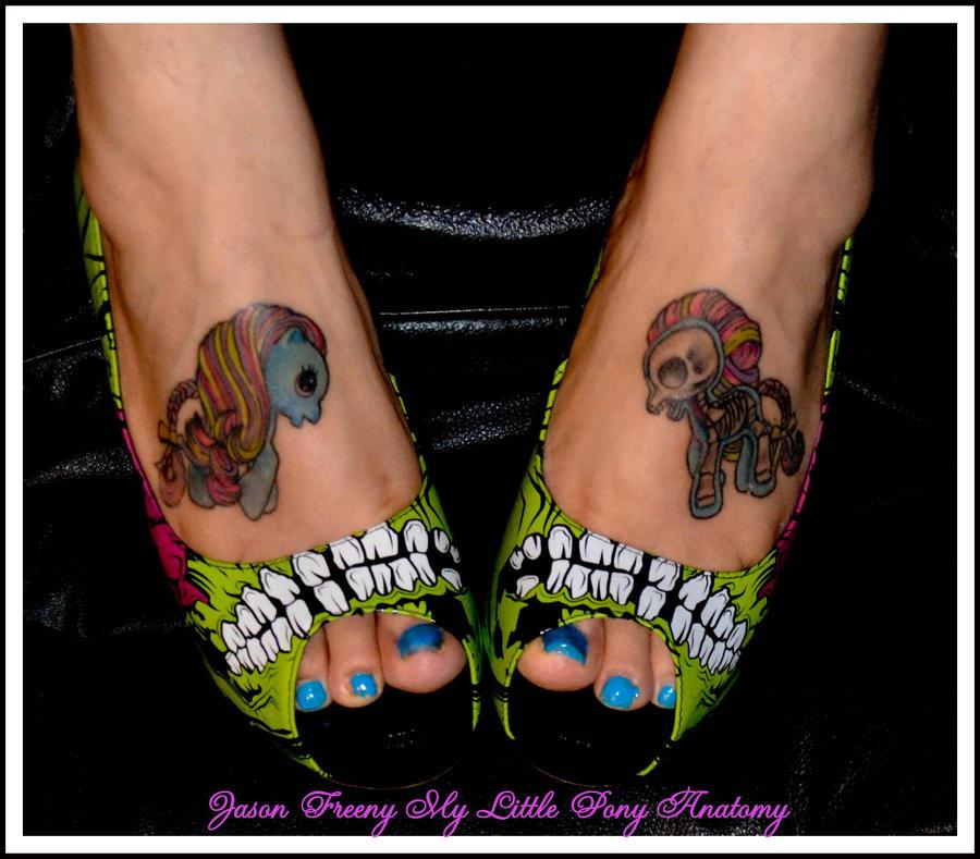 My little pony tattoos by nokturnalbride on deviantart for My little pony tattoo