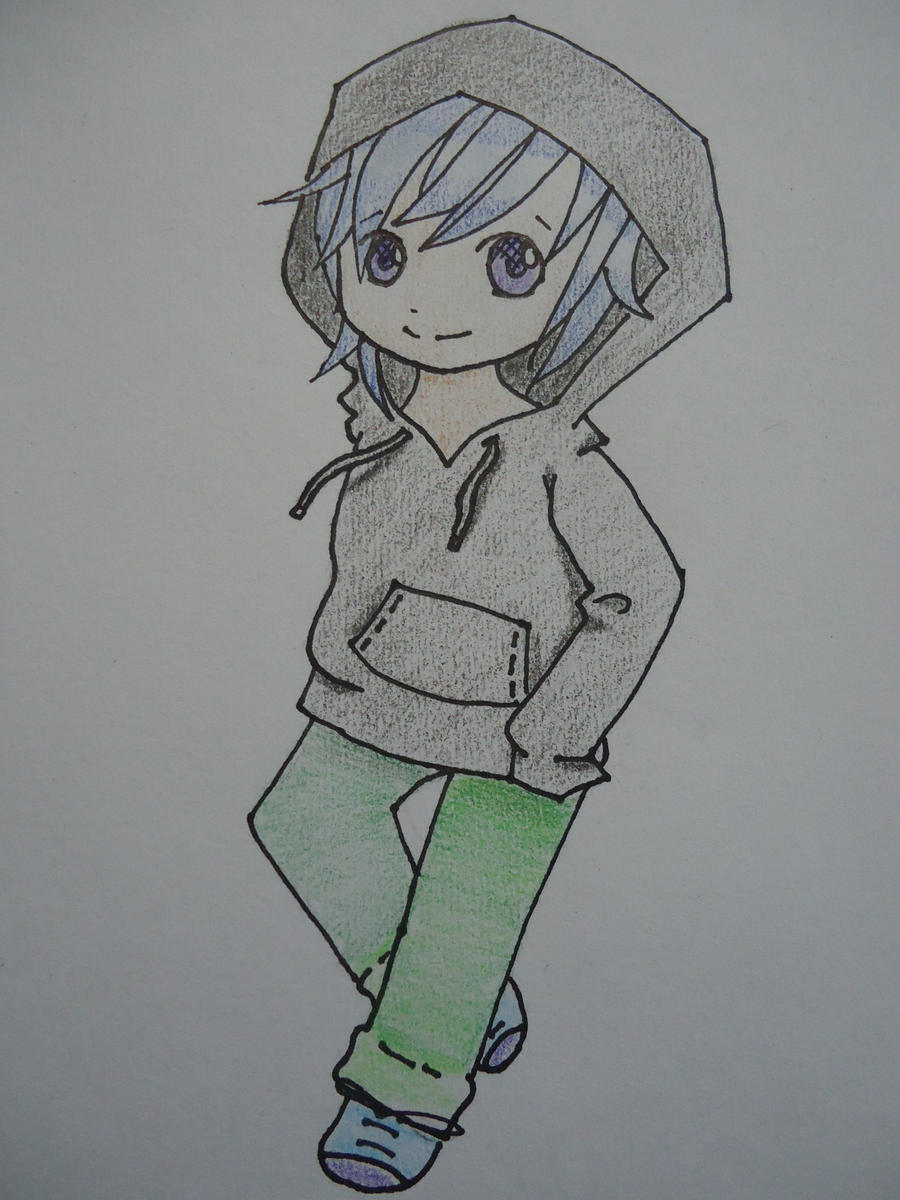 Chibi Boy In Hoodie By Wannapiece25