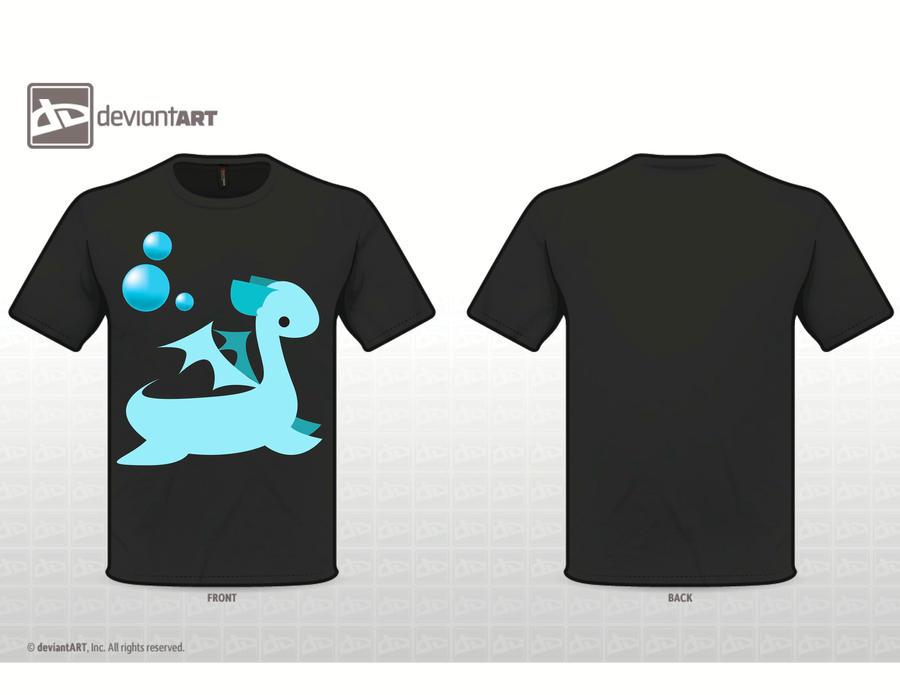 water dragon shirt by Wannapiece25