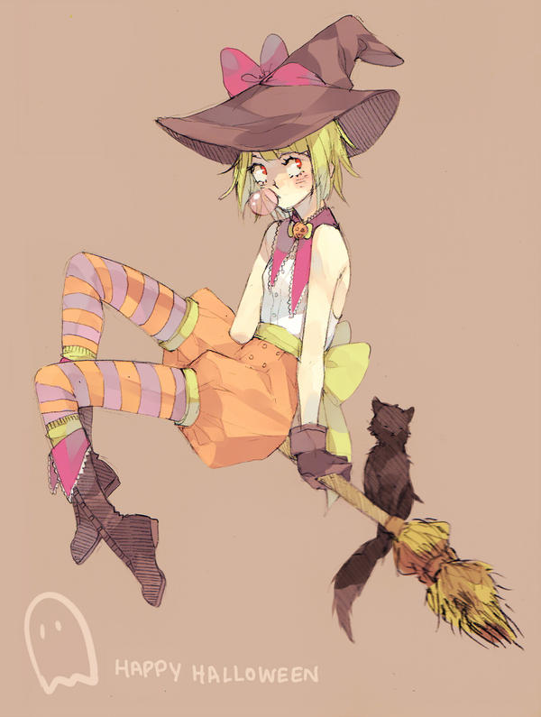 Witchy Cato by mellymerry