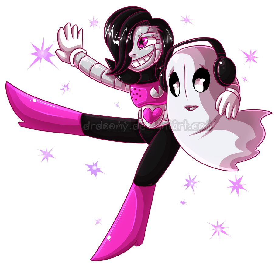 Mettaton And Napstablook By Drdoomy On Deviantart