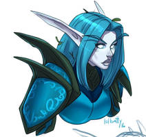 [World of Warcraft] Kyndethwen Stormseeker by lolbatty