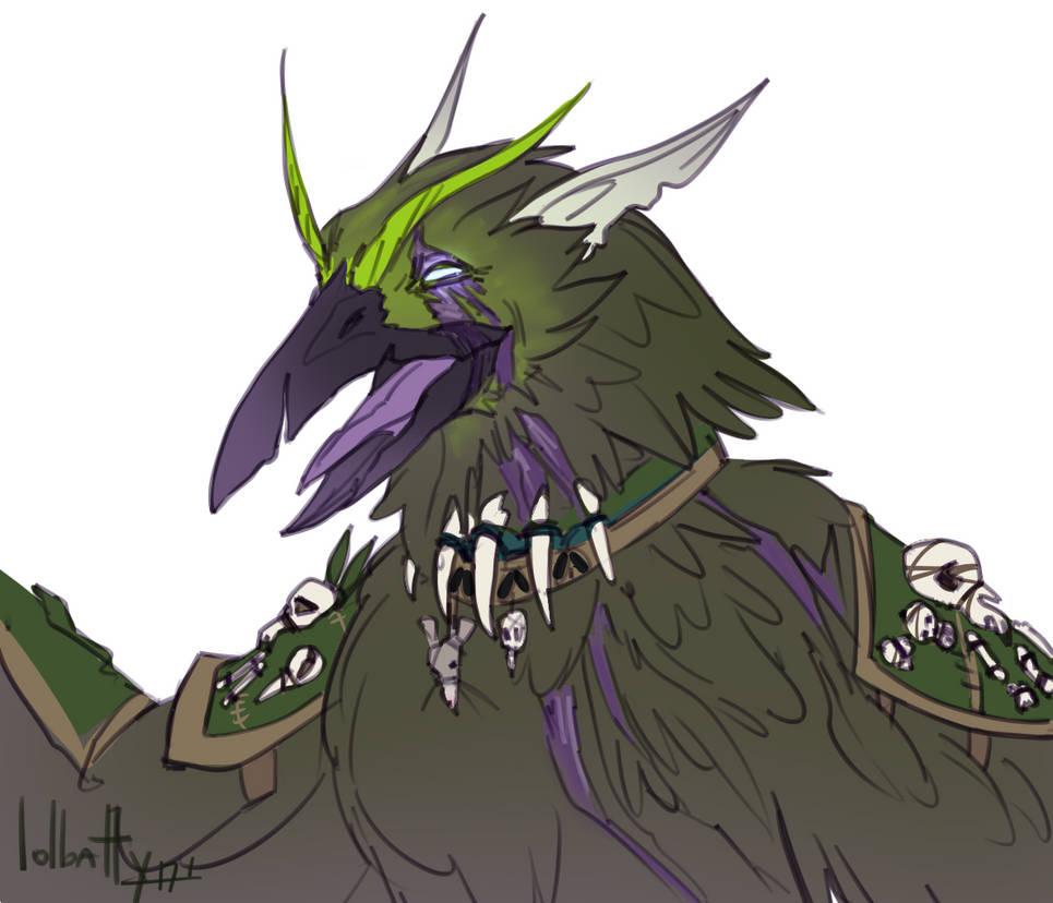 [World of Warcraft] Alastowen Flight Form