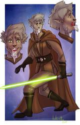 [Custom Character Design] Cathar Jedi