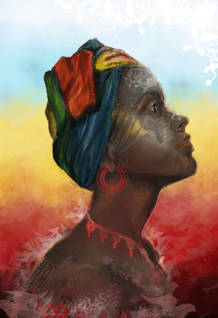 Africa in Her Eyes by JessiJellibean