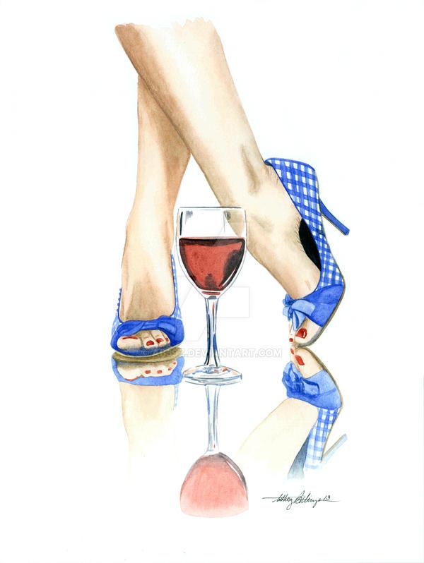 Wine + Heels by ab39z