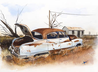 Wasteland Buick by ab39z