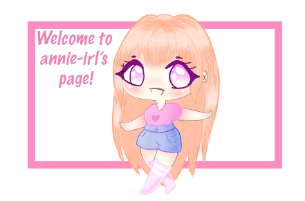 Welcome Thingy by annie-irl