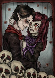In Death We Love by Link-of-the-twilight