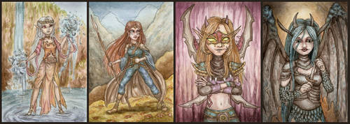 [Trade] Mages and Warriors by Link-of-the-twilight