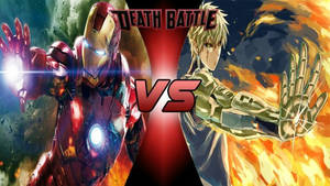 iron man vs genos