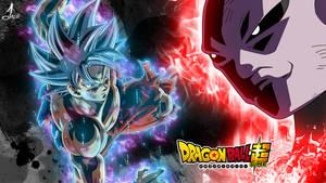 dragon ball super goku vs jiren