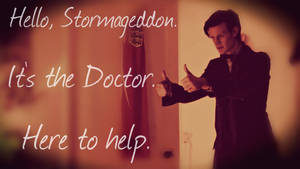 It's the Doctor