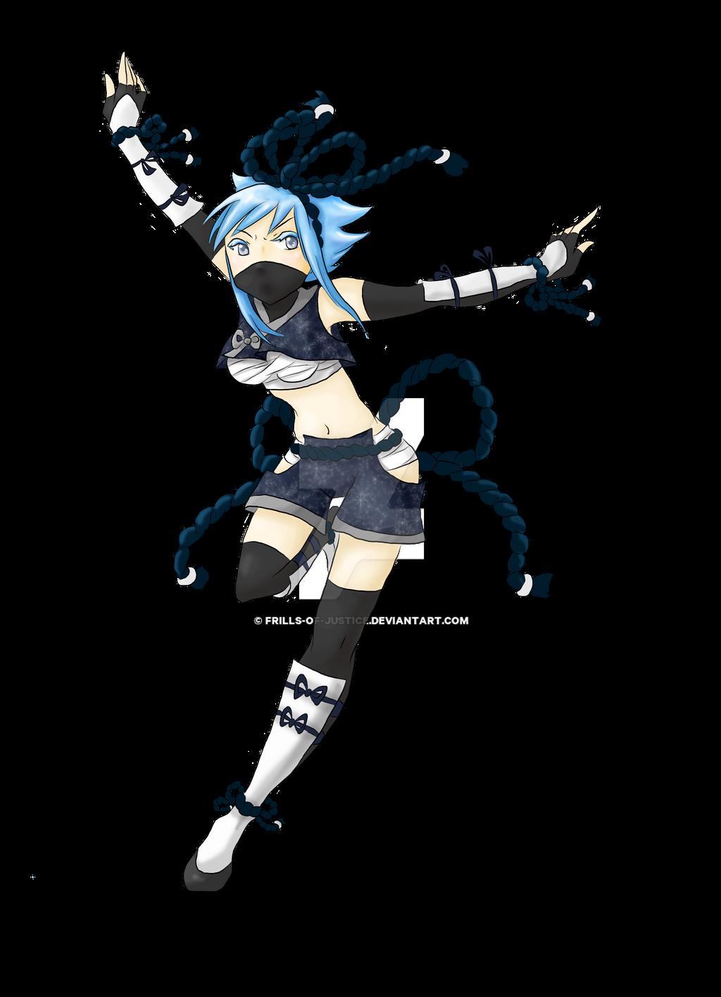 Mahou Kunoichi Hikaru! by Frills-Of-Justice