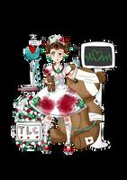 Guro Lolita Teddy Bear Hospital by Frills-Of-Justice