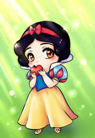 Snowwhite Chibi by Frills-Of-Justice