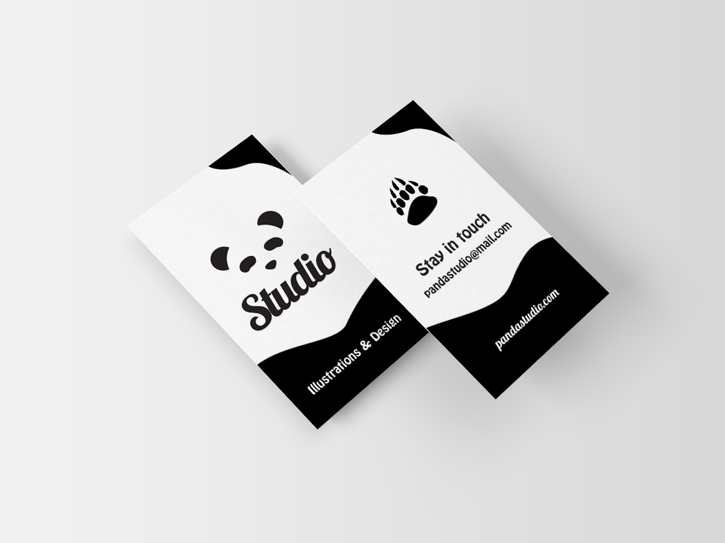 Panda Studio - Business Card by Dobrotek on DeviantArt