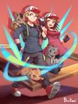 [Commission] Pokemon Couple