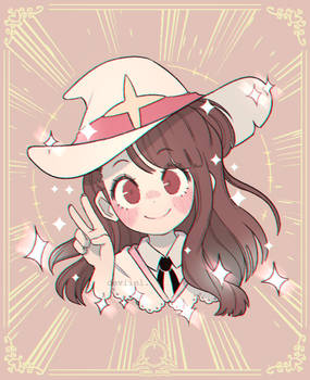 Little Witch Academia: Akko Kagari!