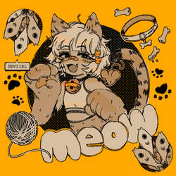 Nya? Cats go meow! by Deviiel