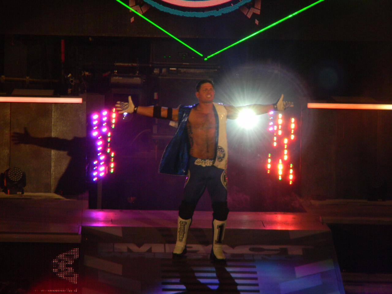 AJ Styles by KnightNephrite