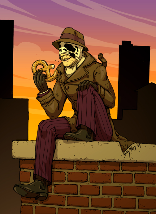 hurm...pretzel. by Luthie13