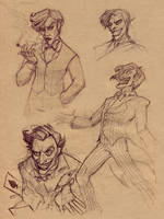 joker sketches by Luthie13