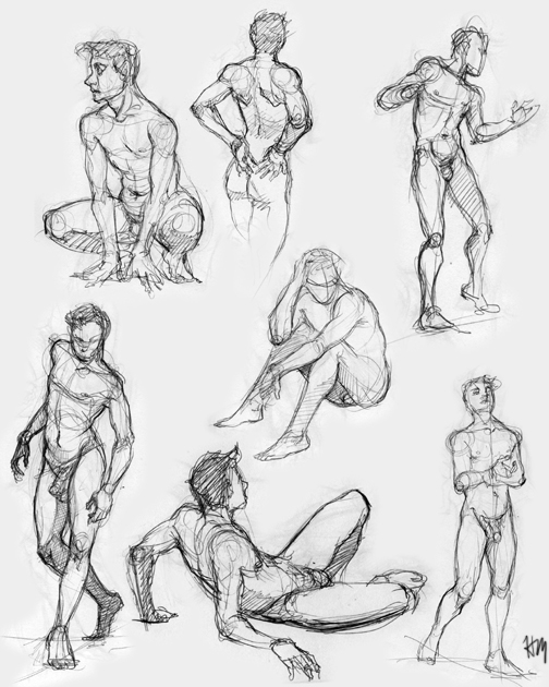 figures 5 by Luthie13