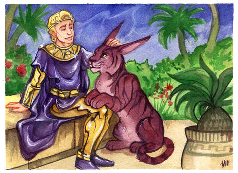 Ozymandias and Bubastis