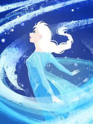 Frozen - Queen Elsa by Luthie13