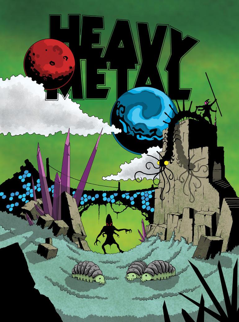 Heavy Metal Cover by WesleyWard