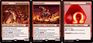 Groudon and Primal Groudon MTG Cards