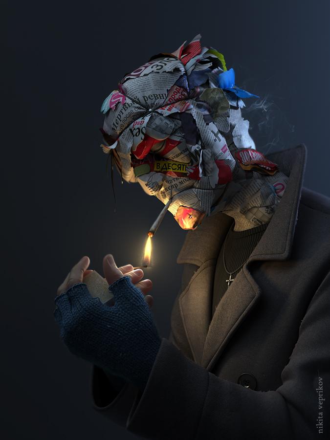 Paperhead by veprikov