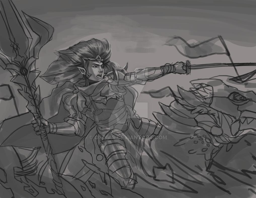 Lancer by onikas