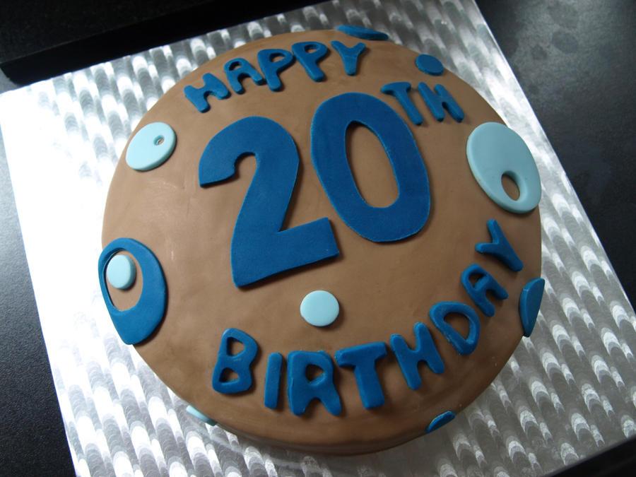 20th Birthday Cake By Sparks1992 On Deviantart
