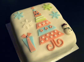 Christmas Tree Cake by sparks1992
