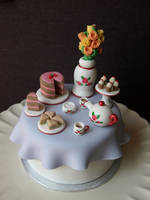 Afternoon Tea Cake by sparks1992
