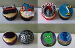 Guardians Of The Galaxy Cupcakes close-ups