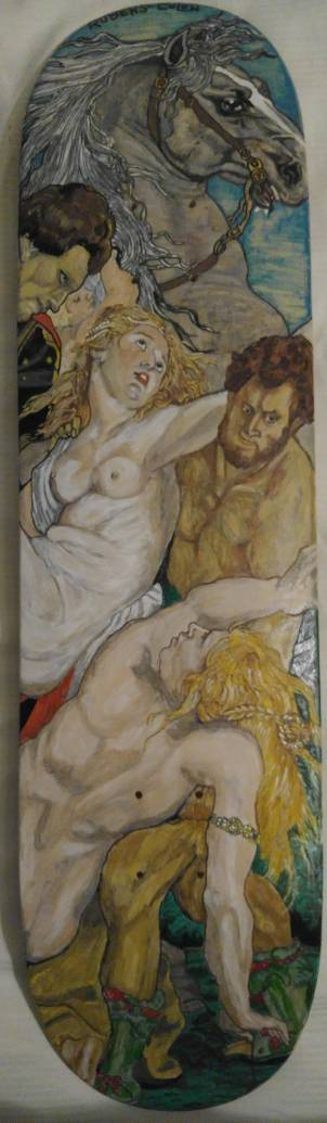 REUBENS The rape of the daughters of Leucippus by brolicdesigns