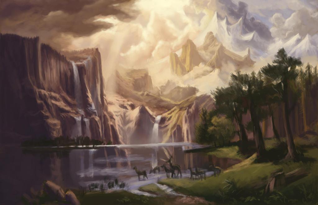 Bierstadt Study by Foggylights
