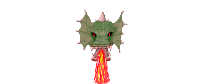 Dragoncito feo