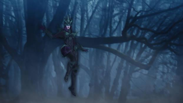 Judgment Syndra [League of Legends Custom Skin]