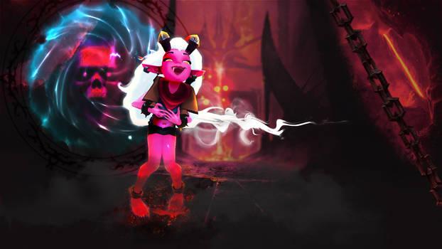 Demon Zoe [League of Legends Custom Skin]