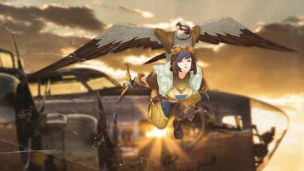 Aviator Quinn [League of Legends Custom Skin]