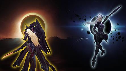 Lunar Eclipse Diana[League of Legends Custom Skin]