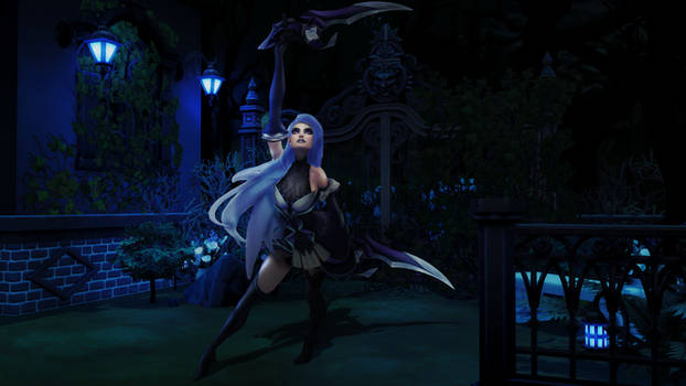 Withered Rose Katarina | LoL Custom skin