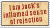 Jack's Sense of Rejection by obsidianstamps