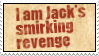 Jack's Smirking Revenge by obsidianstamps