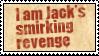 Jack's Smirking Revenge by obsidianstamps